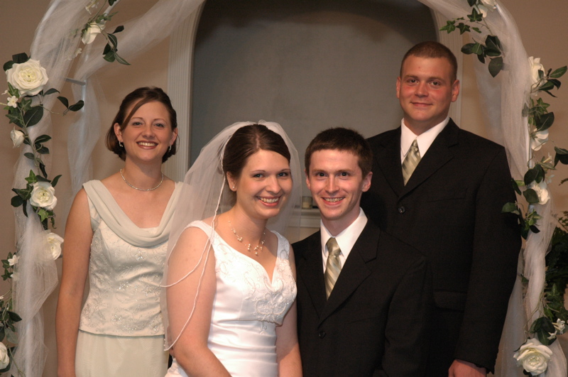 <p>Aaron, Kari, Andrew, and Tracy</p>
